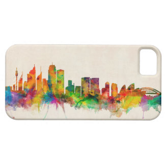 Sydney Australia Skyline Cityscape Barely There iPhone 5 Case
