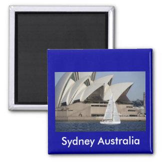 sydney australia square magnet
