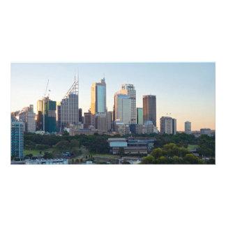 Sydney Business Center Skyscrapers Card