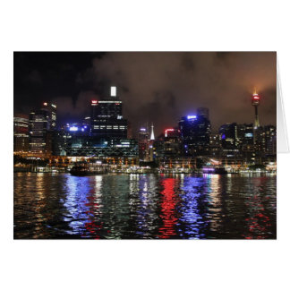 Sydney By Night Card