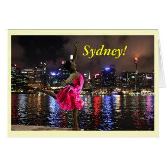 Sydney By Night Card