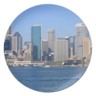Sydney city panorama plate
