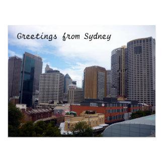 sydney city postcard