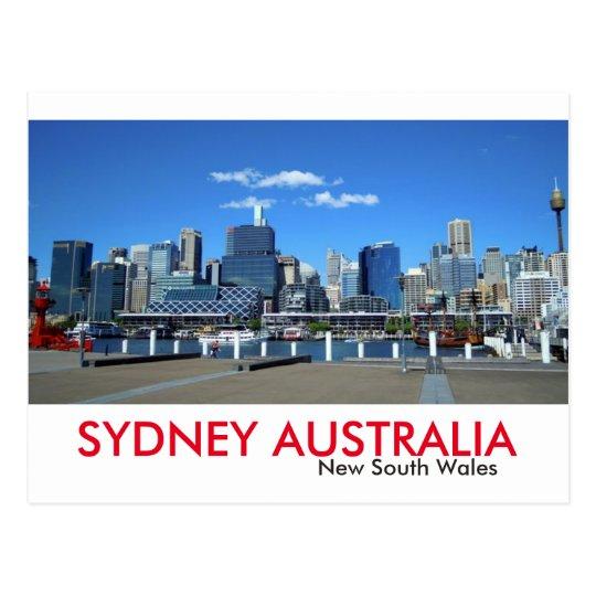 Sydney Darling Harbour Postcard