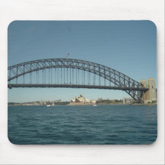Sydney Harbor Bridge and Opera House Mouse Pad