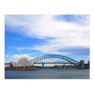 Sydney Harbor Bridge and Opera House Postcards