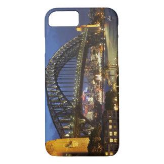 Sydney Harbor Bridge and Park Hyatt Sydney Hotel iPhone 8/7 Case