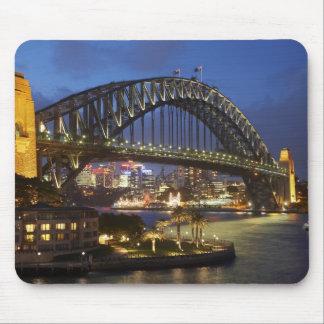 Sydney Harbor Bridge and Park Hyatt Sydney Hotel Mouse Mat