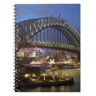 Sydney Harbor Bridge and Park Hyatt Sydney Hotel Notebooks
