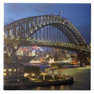 Sydney Harbor Bridge and Park Hyatt Sydney Hotel Tile