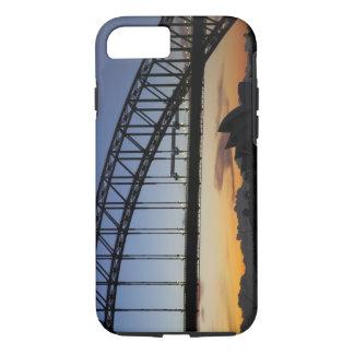 Sydney Harbor Bridge and Sydney Opera House at 2 iPhone 7 Case