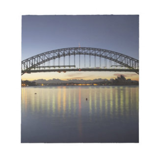 Sydney Harbor Bridge and Sydney Opera House at Notepad