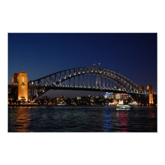 Sydney Harbor Bridge Poster