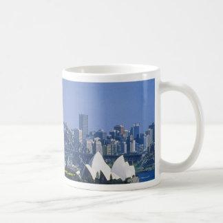 Sydney Harbor Bridge, Sydney, Australia Basic White Mug