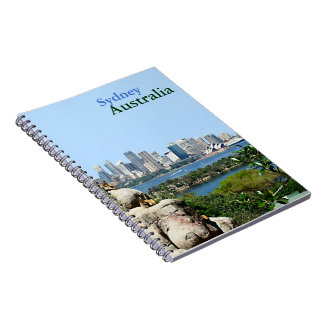 Sydney Harbor from the Zoo Notebooks
