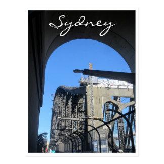 sydney harbour archway postcard