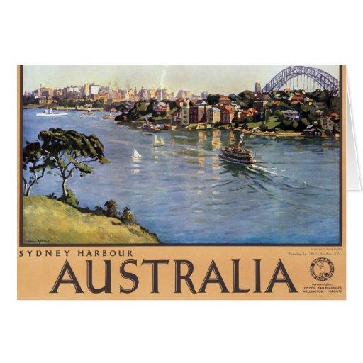 Sydney harbour australia greeting card zazzle