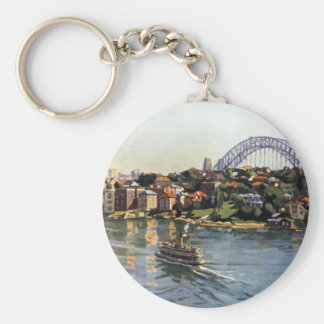 Sydney Harbour, Australia Key Ring