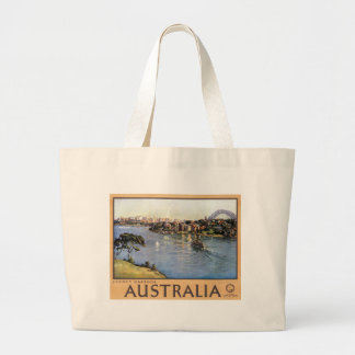 Sydney Harbour, Australia Large Tote Bag