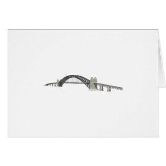 Sydney Harbour Bridge: 3D Model: Greeting Card