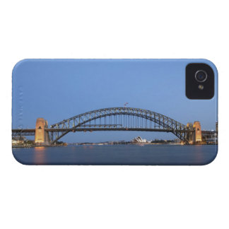 Sydney Harbour Bridge and Opera House at dusk Case-Mate iPhone 4 Cases