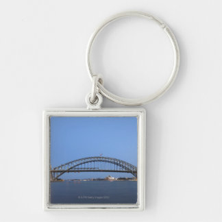 Sydney Harbour Bridge and Opera House at dusk Key Ring