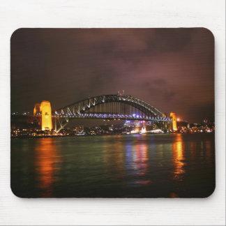 Sydney Harbour Bridge at Night Mouse Mat