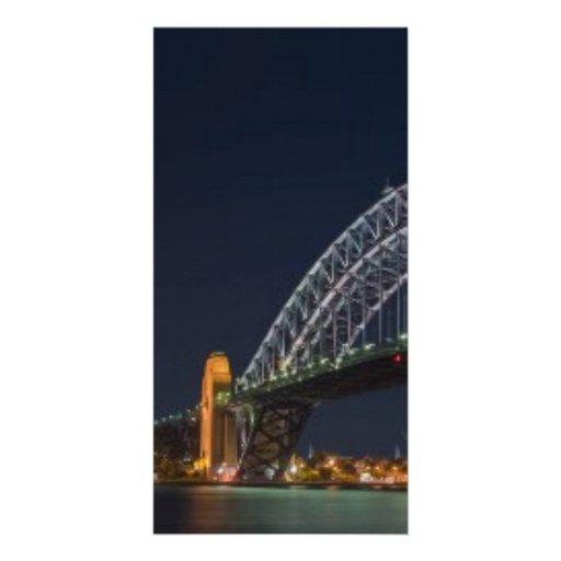 Sydney Harbour Bridge Austrailia Photo Greeting Card