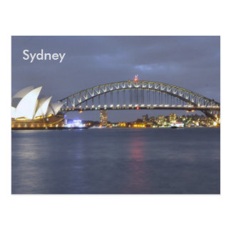 Sydney Harbour Bridge Australia Postcard