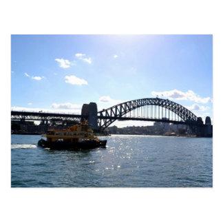 Sydney Harbour Bridge Australia Postcard