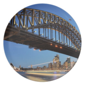 Sydney Harbour Bridge, Sydney Opera House and 2 Plate