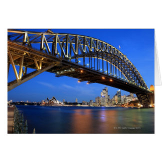 Sydney Harbour Bridge, Sydney Opera House and Card