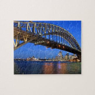 Sydney Harbour Bridge, Sydney Opera House and Jigsaw Puzzle