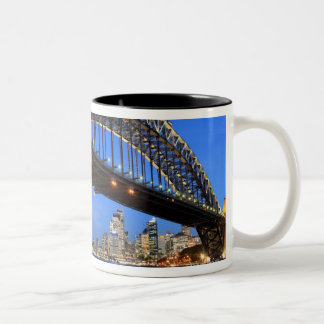 Sydney Harbour Bridge, Sydney Opera House and Two-Tone Coffee Mug