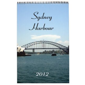 sydney harbour calendar 2012