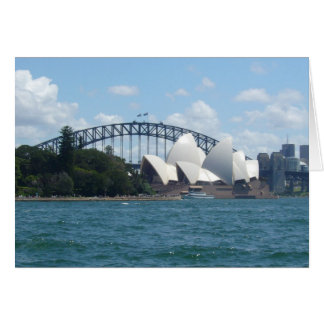 Sydney harbour card
