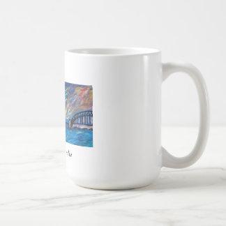 Sydney Harbour Impressionist Coffee Mug