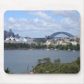 Sydney Harbour Skyline Mousepad