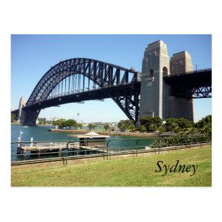 sydney harbour sunshine postcard