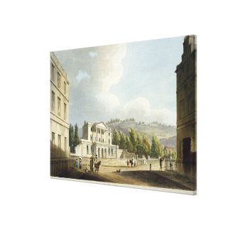 Sydney Hotel, from 'Bath Illustrated by a Series o Canvas Print