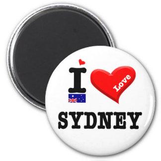 SYDNEY - I Love Magnet