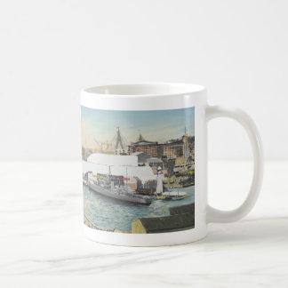 Sydney Maritime Museum from Hotel Balcony. 1998 Coffee Mug
