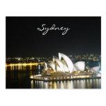 sydney night opera