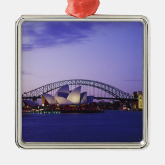 Sydney Opera House and Harbour, New South 2 Christmas Ornament