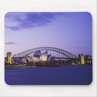 Sydney Opera House and Harbour, New South 2 Mouse Mat