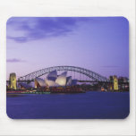 Sydney Opera House and Harbour, New South 2 Mouse Pads