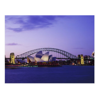 Sydney Opera House and Harbour New South 2 Postcards