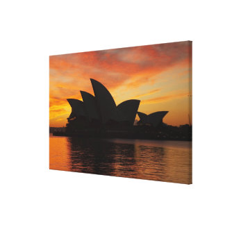 Sydney Opera House at Dawn, Sydney, New South Canvas Print
