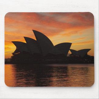 Sydney Opera House at Dawn, Sydney, New South Mouse Mat