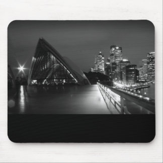 Sydney Opera House at Night Mouse Pad